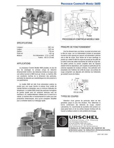 PROCESSEUR COMITROL® MODÈLE 5600