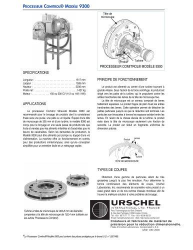 PROCESSEUR COMITROL® MODÈLE 9300