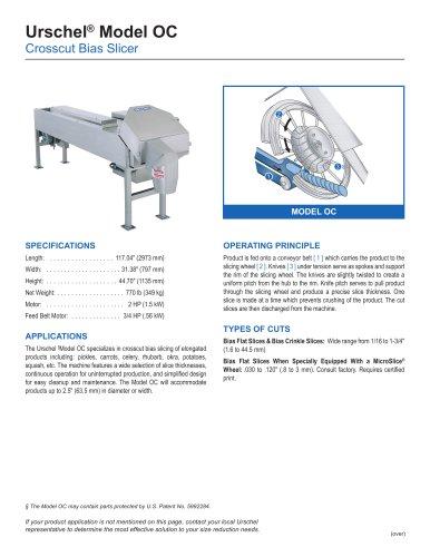 Urschel® Model OC