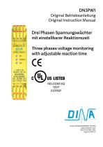 DN3PW: 3 phase monitor