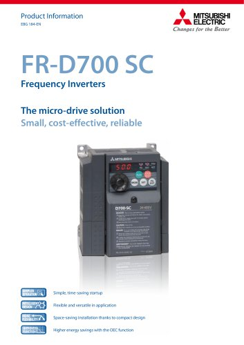 Frequency inverter - FR-D700