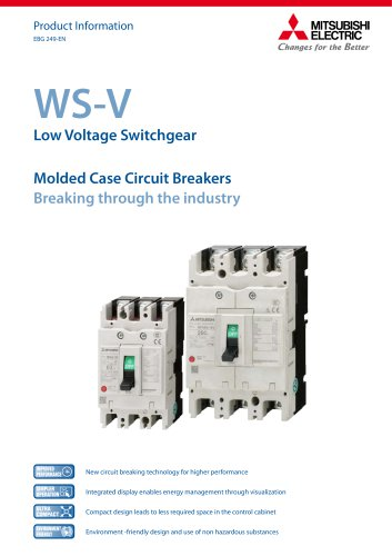 Molded-Case Circuit Breakers - (MCCB) NF