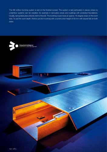 AIK - Onfloor trunking systems