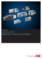 Catalog 2015 Electronic Products and Relays