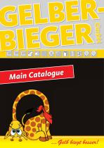 Gelber-Bieger Main catalogue