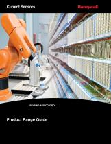 Honeywell Current Sensor Range Guide