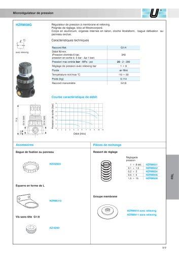 HZRM_Microrégulateur de pression G1/4