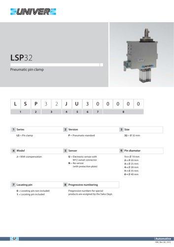 LSP32_Pneumatic pin clamp
