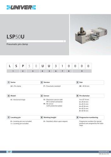 LSP50U_Pneumatic pin clamp