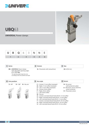 UBQ63_UNIVERSAL Power clamps