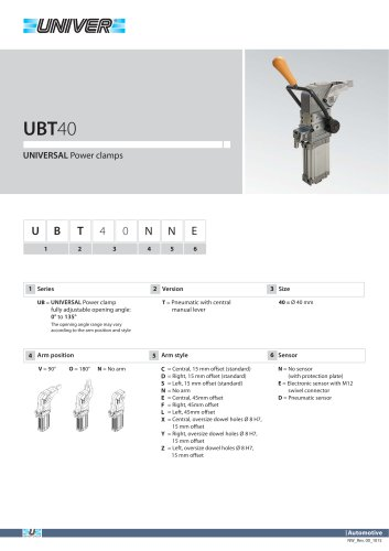 UBT40_UNIVERSAL Power clamps