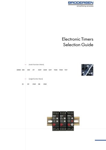 Eletronic Timers Selection Guide
