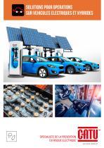 Équipements pour opérations sur véhicules électriques et hybrides