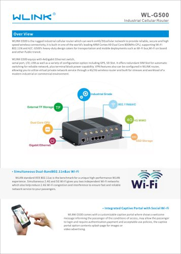 G500 Series Router
