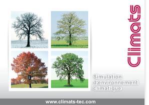 CLIMATS, le programme