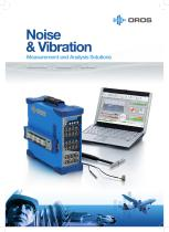 Noise & Vibration: Measurement and Analysis Solutions