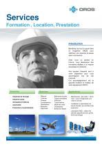OROS Services - Formation, Location, Prestation