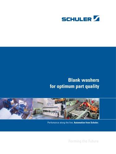 Blank washers