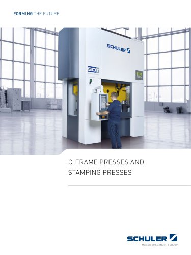 C-frame presses and  stamping presses