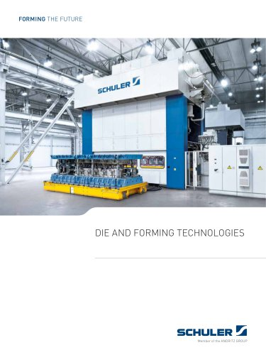 DIE AND FORMING TECHNOLOGIES