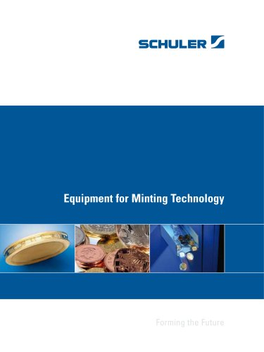Equipment for Minting Technology