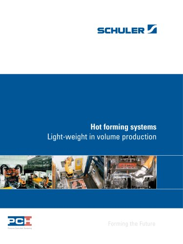 Hot forming systems