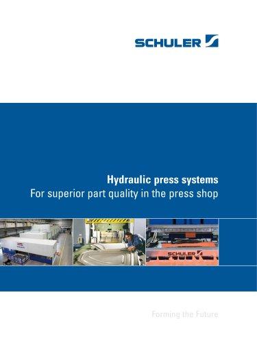 Hydraulic press systems