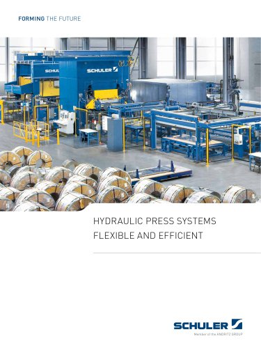 HYDRAULIC PRESS SYSTEMS FLEXIBLE AND EFFICIENT