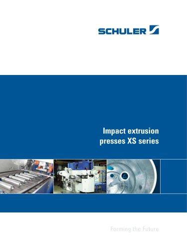 Impact extrusion presses