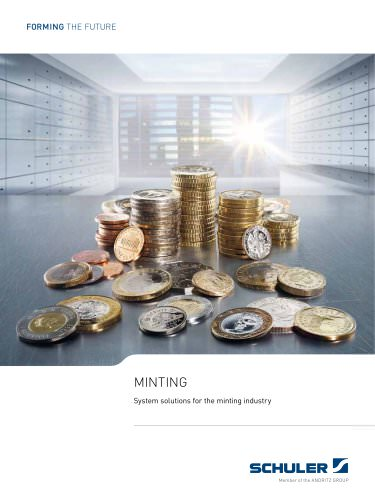 Minting - System solutions for the minting industry