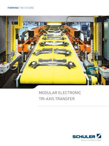 Modular electronic Tri-axis transfers