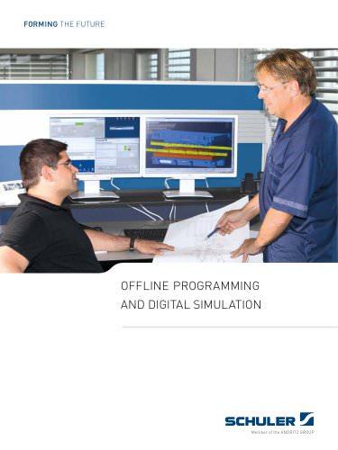 Offline programming and digital simulation
