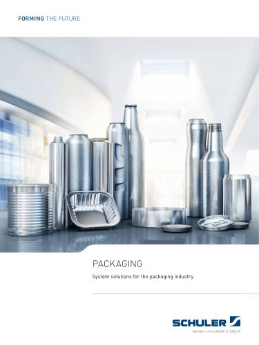 Packaging - System solutions for the packaging industry