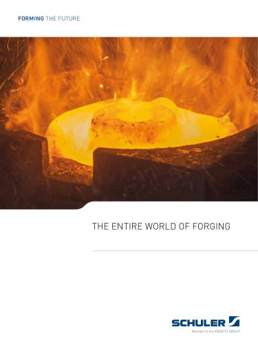 The entire world of forging