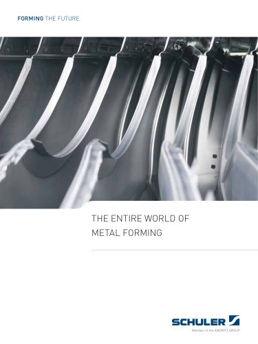 THE ENTIRE WORLD OF METAL FORMING