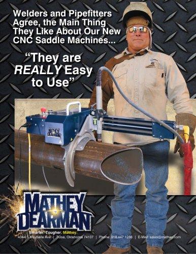 CNC Saddle Machines