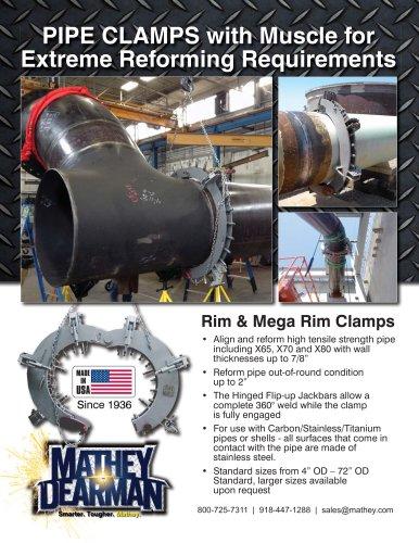 Rim & Mega Rim Clamps