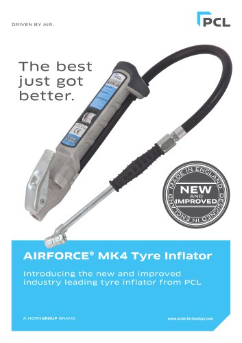 AIRFORCE® MK4 Tyre Inflator