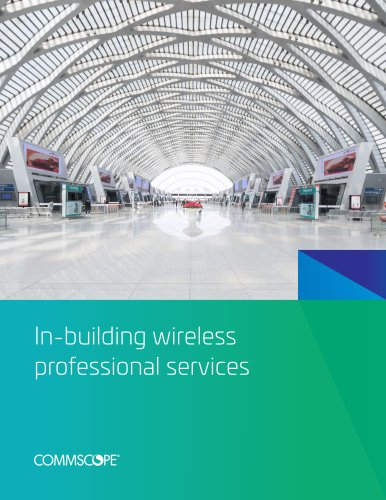 In-building wireless professional services