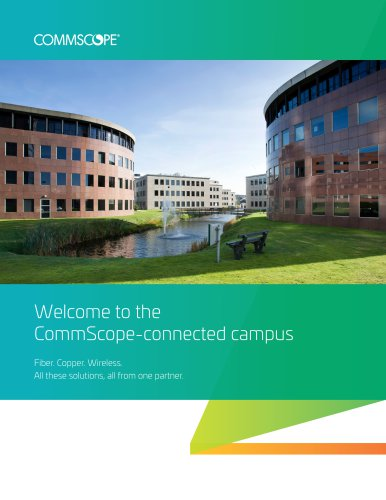 Welcome to the CommScope-connected campus