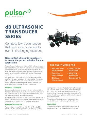 dB Ultrasonic Sensors