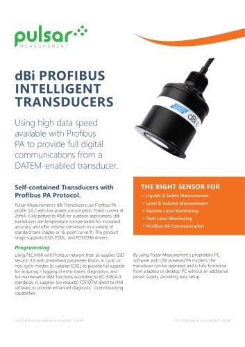 dBi Profibus Intelligent Transducers