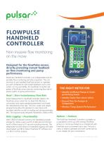 FlowPulse HandHeld Controller