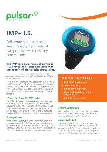 IMP I.S. Sales Brochure