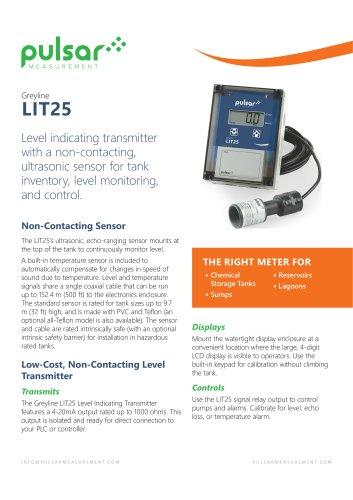 Level Indicating Transmitter - LIT25