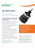 Microflow-i Non-contacting Velocity Sensor