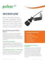 MicroFlow Non-contacting Velocity Sensor