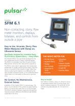 SFM 6.1 Slurry Flow Meter