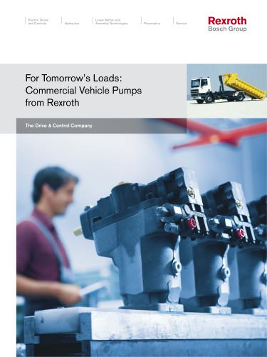 Commercial Vehicle Pumps from Rexroth