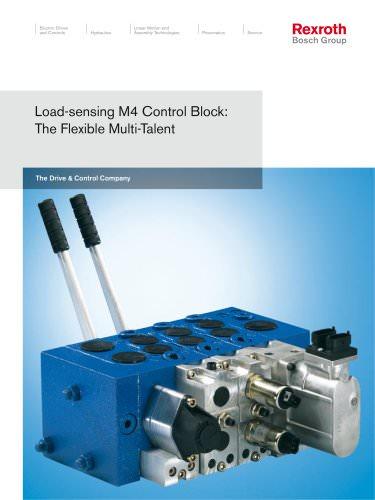 Load-Sensing M4 Control Block